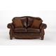North Shore Dark Brown Loveseat CLEARANCE