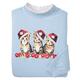 Christmas Kittens Sweatshirt, One Size