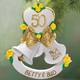 Personalized 50th Anniversary Bell Ornament