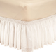 White Eyelet Bed Ruffle, One Size