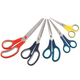 5 PC Comfort Grip Scissors, One Size