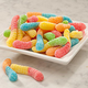 Albanese Sour Mini Neon Gummi Worms