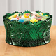 Emerald Green Glass Candy Dish