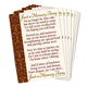Memorial Pocket Cards Set of 25
