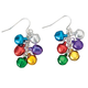 Jingle Bell Earrings, One Size