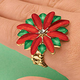 Poinsettia Ring