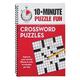 Brain Games 10-Minute Puzzle Fun Crosswords Book, One Size