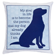 My Goal in Life Dog Pillow, One Size