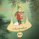 Personalized Drummer Boy In Bel Ornament