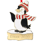 Personalized Penguin Christmas Ornament, One Size