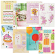 Birthday Card Set of 24, One Size