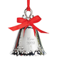 Personalized Silver Bell Ornaments Engraved