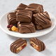 Chocolate Covered Fruit Cake Slices