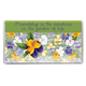Personalized Pansy 2 Year Planner