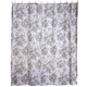 Ribbons and Roses Bathroom Shower Curtain, One Size