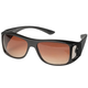 Clear View Wraparound Sunglasses, One Size