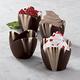 Mini Marble Chocolate Dessert Cups