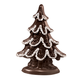 Dark Chocolate Christmas Tree 5.5 oz, One Size