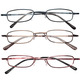 Colorful Metal Readers 3 Pack, One Size