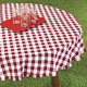 Tavern Check Tablecloth, One Size