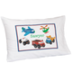 Personalized Cars & Airplanes Pillowcase, One Size
