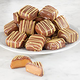 Milk Chocolate Covered Banana Foster Caramels