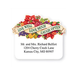 Personalized Live Love Laugh Die Cut Labels Set of 100, One Size