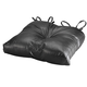 Faux Leather Tufted Chair Pad, One Size