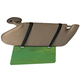 Visor Extender with Straps, One Size, Green