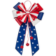 Patriotic Metal Bow Door Hanger