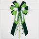 St. Patrick's Day Velvet Bow, One Size