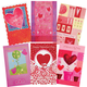 Valentine's Day Card Assortment, Set of 24, One Size