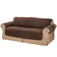 Sherpa Loveseat Protector by OakRidge Comforts, One Size