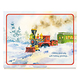 Old Time Train Station Unpersonalized Card Set of 20