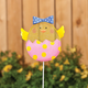 Glitter Chick Lawn Stake, One Size