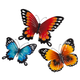Metal Butterflies By Maple Lane Creations - Set Of 3