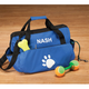 Personalized Paw Print Pet Supply Duffle Bag, One Size