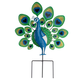 Peacock Lawn Stake by Maple Lane Creations, One Size