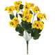 All-Weather Yellow Pansy Bush by OakRidge™, One Size