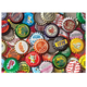 Bottle Caps Jigsaw Puzzle - 750 Pieces, One Size