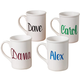 Personalized Coffee Mug, One Size, White