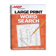 AARP Large Print Word Search, One Size