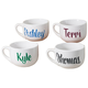 Personalized Soup Mug, 22 oz, One Size, White