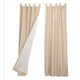 Energy Saving Tab Top Curtains Set Of 2, One Size