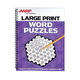 AARP Large Print Word Puzzles, One Size