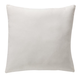 18 x 18 White Canvas Pillow, One Size