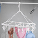 Hanging Clothes Dryer With Clips