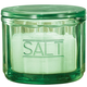 Green Depression Style Glass Salt Cellar, One Size