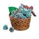 Starter Pinecones in Basket, One Size
