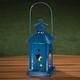 Blue Star Lantern, One Size